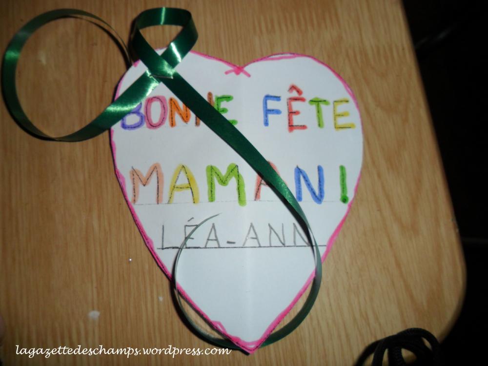 Souvent Ma première fête des mères… | La Gazette Des Champs GF46